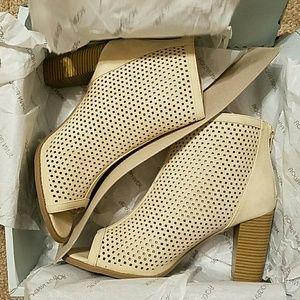 Open Toe Heel Boots